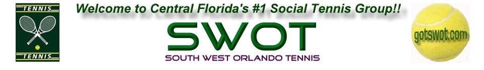 Enter the South West Orlando Tennis Website - SWOT!